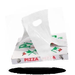 Pizzakarton Tragetasche HDPE