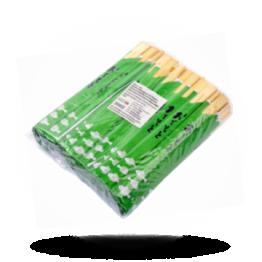Essstäbchen Grüner Verpackung