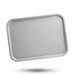 Tablett Kunststoff 305x415mm, grau