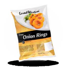 Crispy onion rings Tiefgefroren
