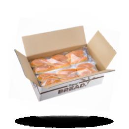 Ovale Snackbrötchen Vorgebacken, geschnitten, tiefgefroren