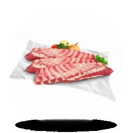 Spareribs Kalbfleisch, tiefgefroren