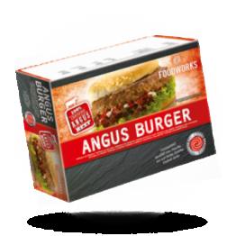 100% Angus Hamburgers 198g pro Stück, tiefgefroren
