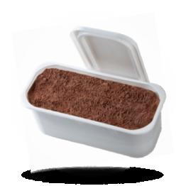 Schokolade Eis Speise Eis, tiefgefroren
