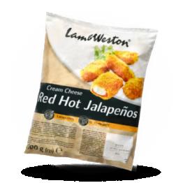 Red hot Jalapenos Panierte Käse-Jalapeno Snack, tiefgefroren