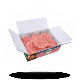 Gewürzte Hamburger Halal, tiefgefroren