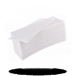 Handservietten 25x23cm, 2-lagig, weiß